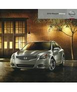 2010 Nissan ALTIMA sales brochure catalog US 10 Sedan Coupe S SL SR - $6.00