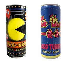 Pac-Man Energy Drink 4 Packs (2 Flavor Combo Pack) - $19.79