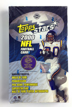 2000 Topps Stars NFL Football Cards Hobby Box - 24 Packs - 6 Cards Per - $49.49