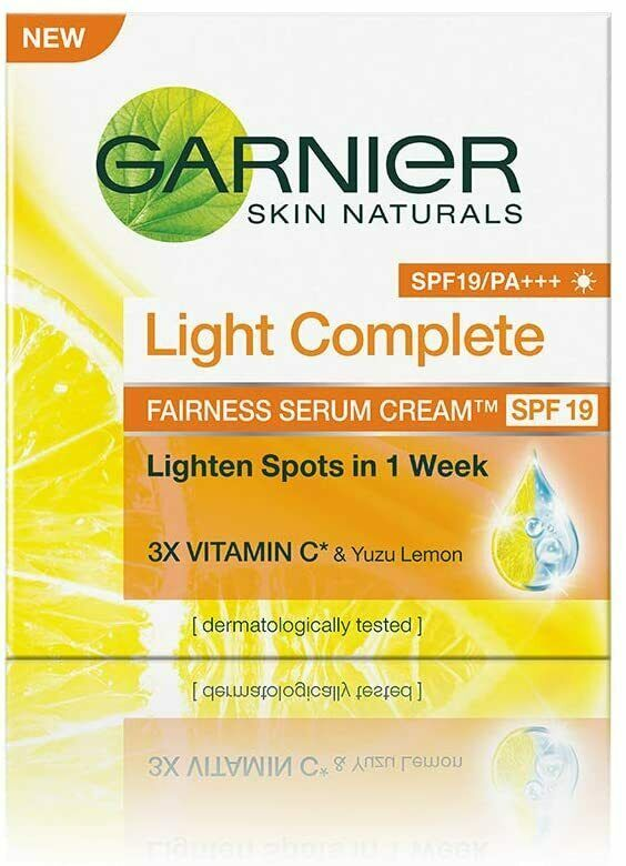 Garnier Skin Naturals Light Complete Serum Cream SPF 19, 45g - $13.09