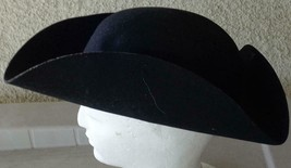 Vintage Tricorn Hat - WPL 5923 - 100% Wool - Size Large - VGC - COLLECTI... - €43,92 EUR