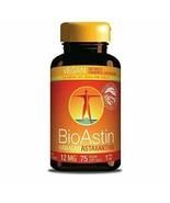 Nutrex Hawaii BioAstin Hawaiian Astaxanthin Vegetarian 12 mg 75 Vegetari... - $45.23