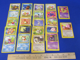 Pokemon Card Common & Uncommon Deck 64 Chansey 72/165 Butterfree 33/64 Q... - $10.34