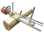 """Portable Chainsaw Mill Planking Milling From 18 to 48"""" Guide Bar Chainsaws Chain - ₹15,514.90 INR"""