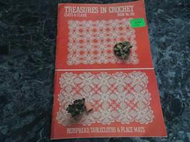 Treasures in Crochet Book 296 Coats & Clarks - $2.99