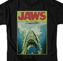 Jaws Movie Retro 70s 80s Amity Island Martin Brody graphic t-shirt UNI727 image 2