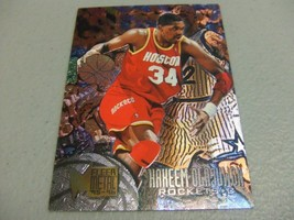 1995-96 Fleer Metal #40 Hakeem Olajuwon -Houston Rockets- - $3.12