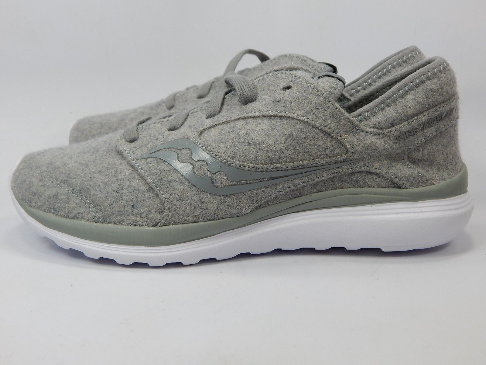 Saucony Kineta Relay Wool Men's Running Shoes Size 9 M EU 42.5 Grey S25244-45