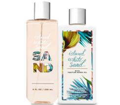 Bath & Body Works Island White Sand Body Lotion + Fine Fragrance Mist Duo Set - $27.39