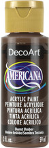 Americana Acrylic Paint 2oz-Burnt Umber - Opaque - $6.74