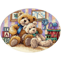 """Dimensions/Gold Petite Counted Cross Stitch Kit 7""""X5""""-Warm & Fuzzy (18 Count) - $15.80"""