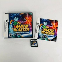 Nintendo DS Math Blaster in the Prime Adventure Complete Case Booklet Ca... - $12.82