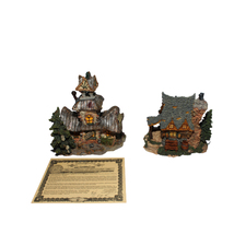 Boyds Bearly Built Villages Collection Edmund's Hideaway 19005 Year 2000 - $34.97