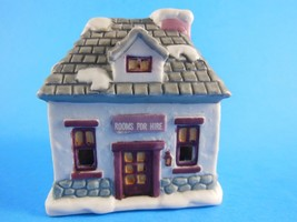 NIB Dickens Village Inn Bell Lite Mini Tree Light cover Bisque Porcelain - $3.46