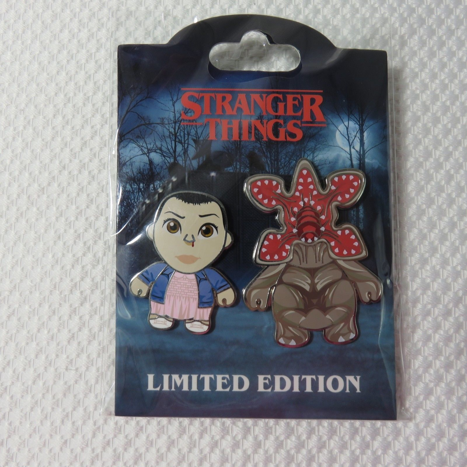 New Stranger Things Limited Edition Universal Pin Pinback Set Sold Out