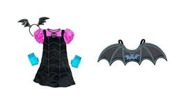 Disney Store Vampirina Girls 5/6 Singing Costume Set with Bat Wings - $148.45