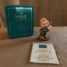 Sneezy Snow White Disney WDCC figurine Ah Choo and the seven dwarfs  vintage - $48.50