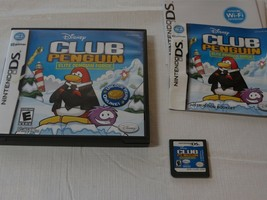 Club Penguin : Elite Penguin Force (Nintendo DS, 2008) Disney Game Boy E... - $9.02