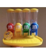 5 M&M's World 4 Tube Candy Dispenser Great gift New Unused  - $490.05