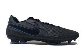 Nike Tiempo Legend 8 Academy Soccer Cleats Men's Black/Blue AT5292-004 S... - $49.99