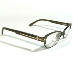Tory Burch TY1028 182 Eyeglasses Frames Cats Eye Rectangular Rimmed Oliv... - $56.10