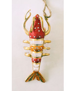 Pottery Barn lobster glass Christmas ornament - $21.99