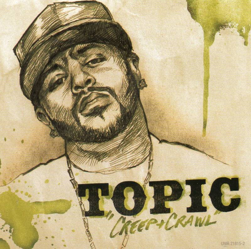 Topic Creep and Crawl 3 Track Promo CD Single