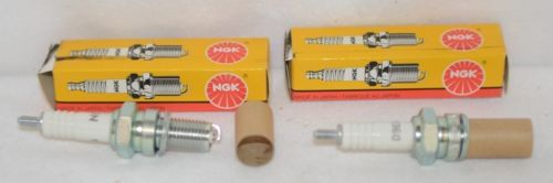 NGK D9EA Standard Replacement Spark Plug Motorcycle Two Per Unit Nickel