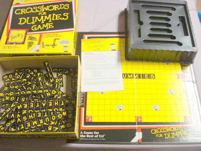 Primary image for Crosswords For Dummies Game 1998 Presman Complete
