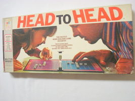 Head To Head Game Milton Bradley Game 1972 Complete - $19.99