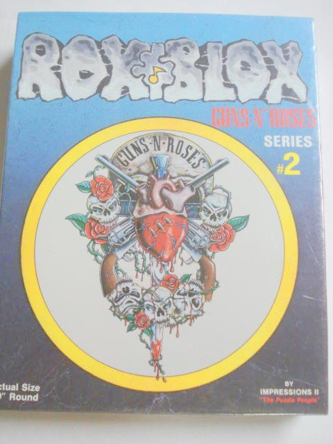 Guns N Roses #2 Rox Blox Puzzle New By Impressions