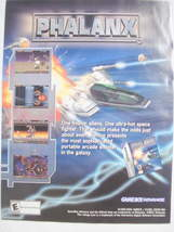 2001 Ad Video Game Phalanx by Kemco - $7.99