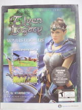 2009 Ad PC Game Elven Legacy War Is Upon Us - $7.99