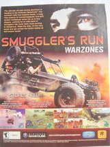 2002 Ad Video Game Smuggler's Run Warzones - $7.99