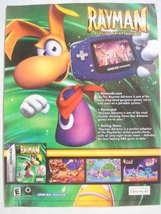 2001 Ad Video Game Rayman Advance by Ubi Soft - $7.99