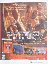 2009 Ad PC Game Age of Conan Hyborian Adventures - $7.99
