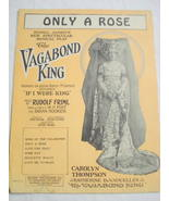 1925 Sheet Music Only A Rose  - $7.99