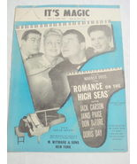 1948 Sheet Music It's Magic Doris Day, Janis Page - $7.99