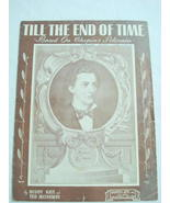 1945 Sheet Music Till The End of Time - $7.99