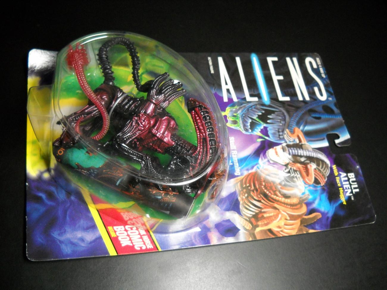 Toy aliens kenner 1992 bull alien moc 01