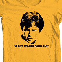 Star Trek What Would Sulu do? T-shirt retro sci-fi cotton Kirk Spock tee CBS633 image 2