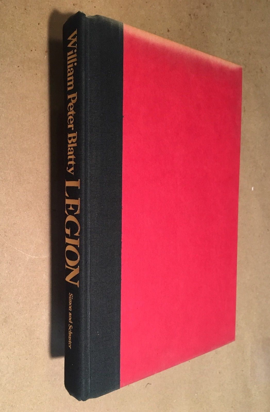 LEGION William Peter Blatty- first edition, SIGNED -COA- Sequel to The Exorcist