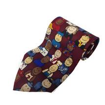 "Save the Children Future Career Multi Color Silk Neck Tie Made in USA Tie 57"" - $8.94"