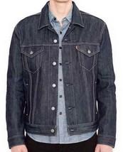 Levi's Men's Premium Button Up Denim Jeans Jacket Relaxed Rigid 723350005 image 1