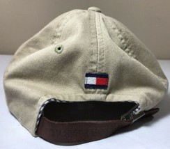 Vintage Tommy Hilfiger Hat Strapback Flag Logo Colorblock Racing Lotus C... - $29.99