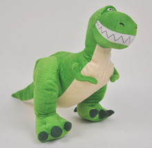 REX Toy STORY Plush DOLL Figure DISNEY Collections GREEN T-Rex Dinosaur ... - $16.78
