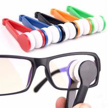 Microfiber Mini Sun Glasses Eyeglass Clean Brush Cleaner Cleaning Specta... - $4.09