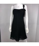 Ann Taylor LOFT Women's Size 2 Black Shift Dress - $19.78