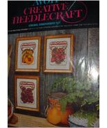 CREATIVE NEEDLECRAFT CREWEL EMBROIDERY / 1ST PRIZE AT THE FA - $15.00