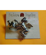 Angel pin &  Angel Ear rings--Pierced Ears - $8.50